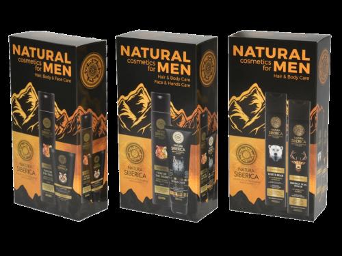 Natural Siberica for men opakowanie fasonowe